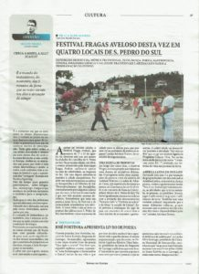 Festival Fragas Aveloso 2016 Jornal do Centro